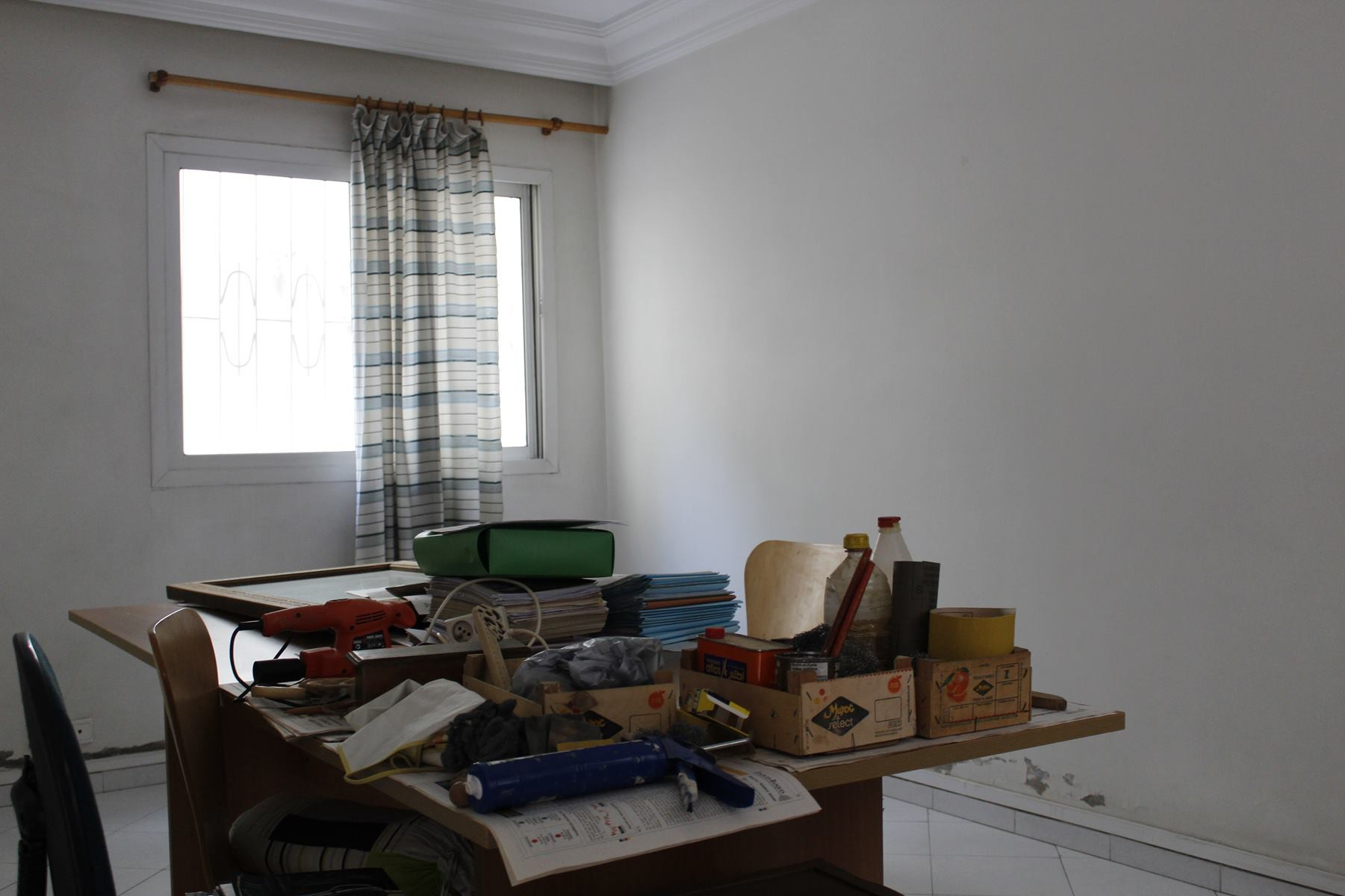 Casablanca, a vendre appartement / bureau dans une rue très calme open space secteur des hopitaux