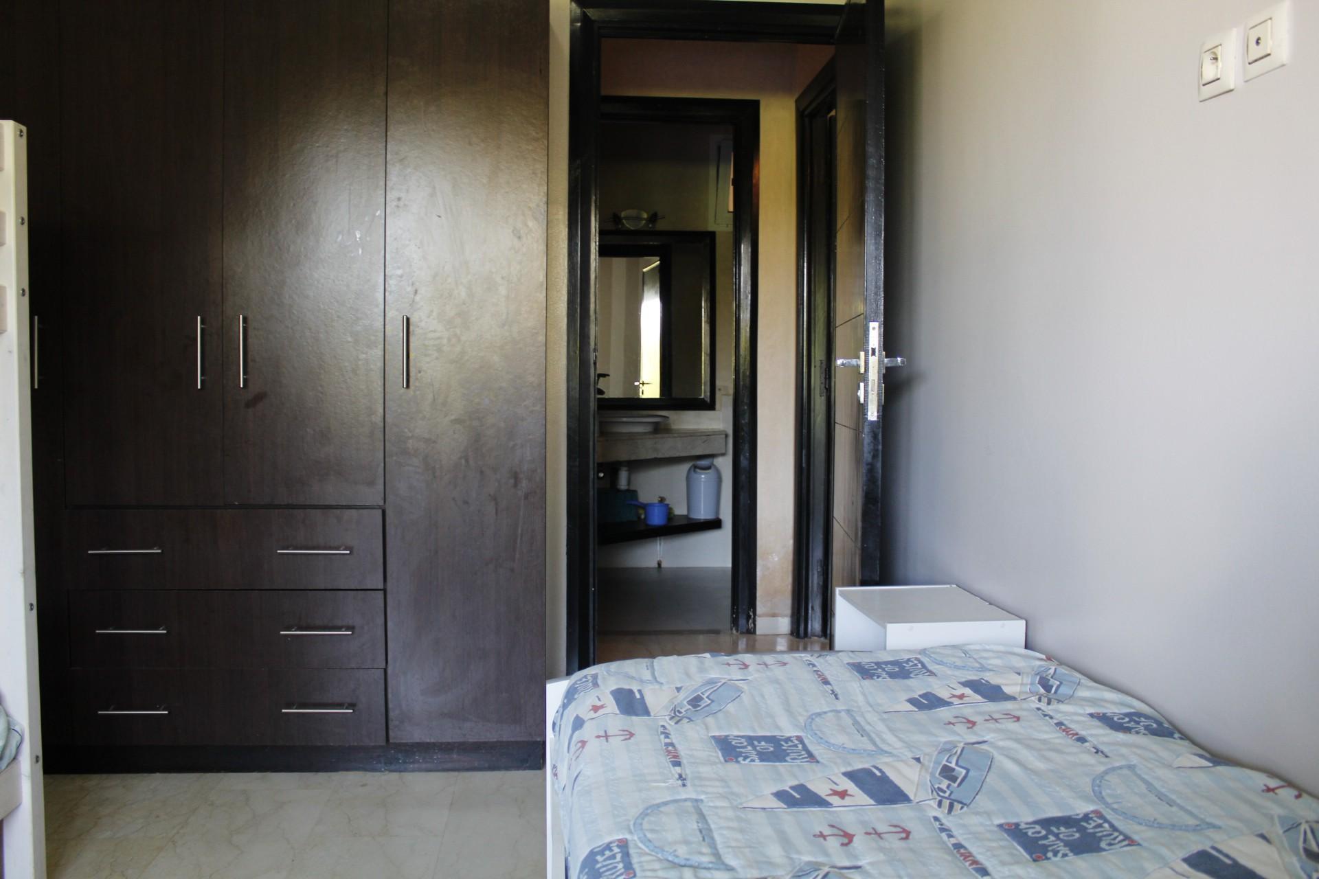 à louer appartement meublé de 87 M2 environ, en cœur de maarif