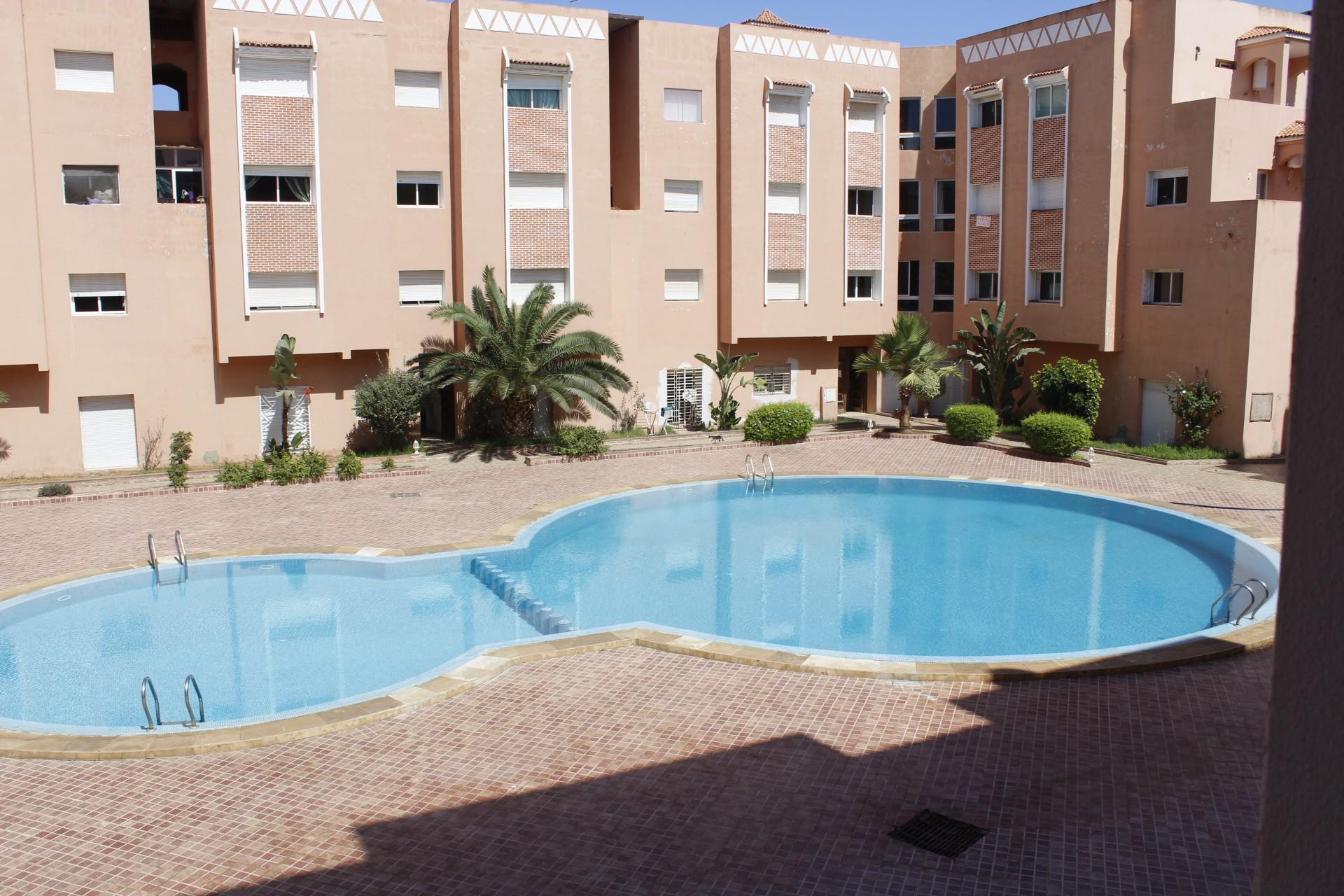 Dans residence priviliégie Appartement neuf meublé de 115 M2