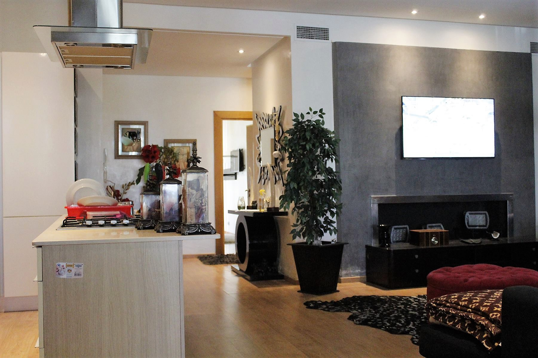 A Louer Dar bouazza, superbe appartement meublé, presque une villa.