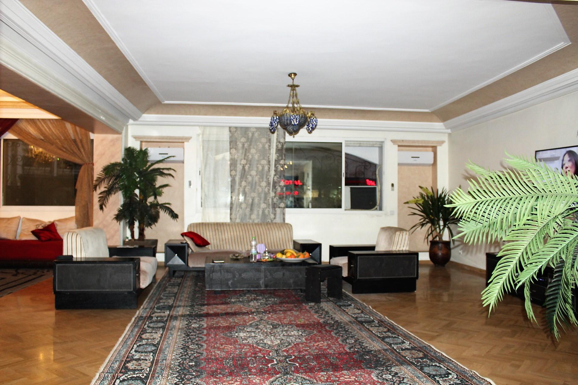 Maroc, Casablanca, cœur de Gauthier à louer confortable appartement meublé dans un immeuble d'expat.