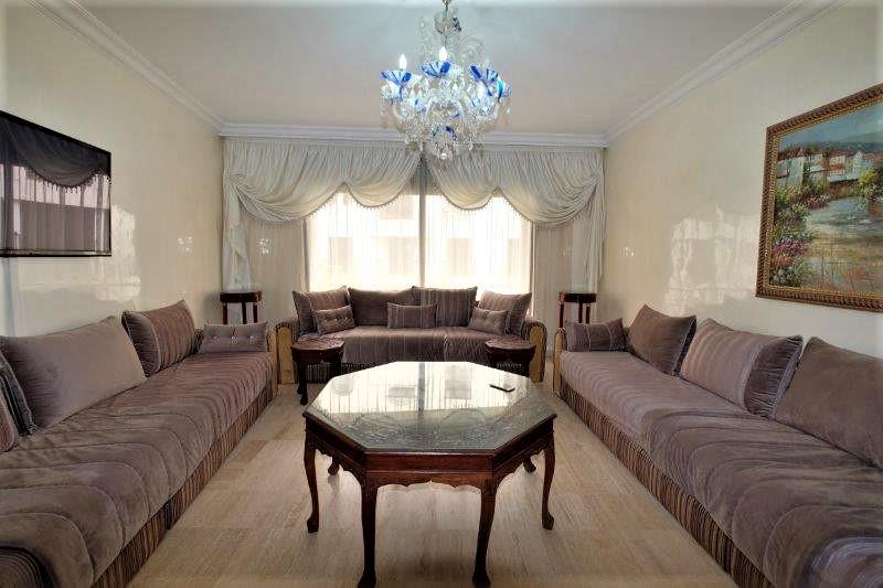 Casablanca, Ain diab n à louer Appartement de Standing 145 m² calme