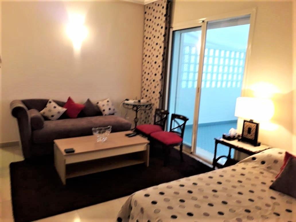 Gauthier, agréable studio de 50 m2 parfaitement meublé à louer
