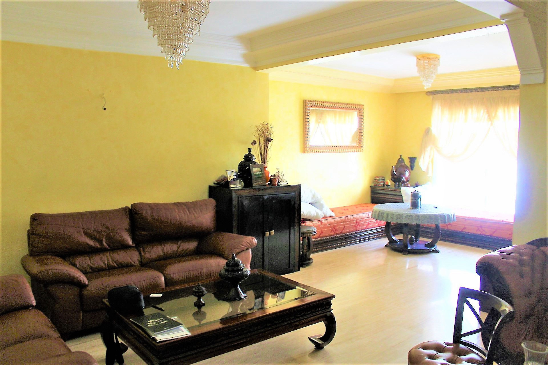 Maroc, Casablanca, Racine, secteur Bld Massira el Khadra, à vendre parfait logement de 116 M2 exposition sud