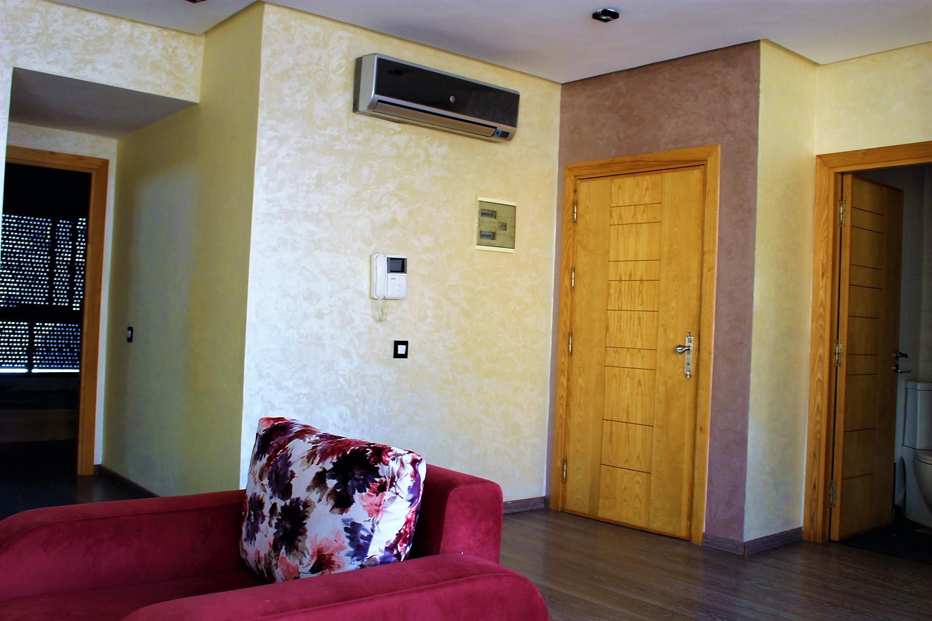 Grand Casablanca, Dar bouazza, à louer dans résidence villa de standing, maison avec piscine