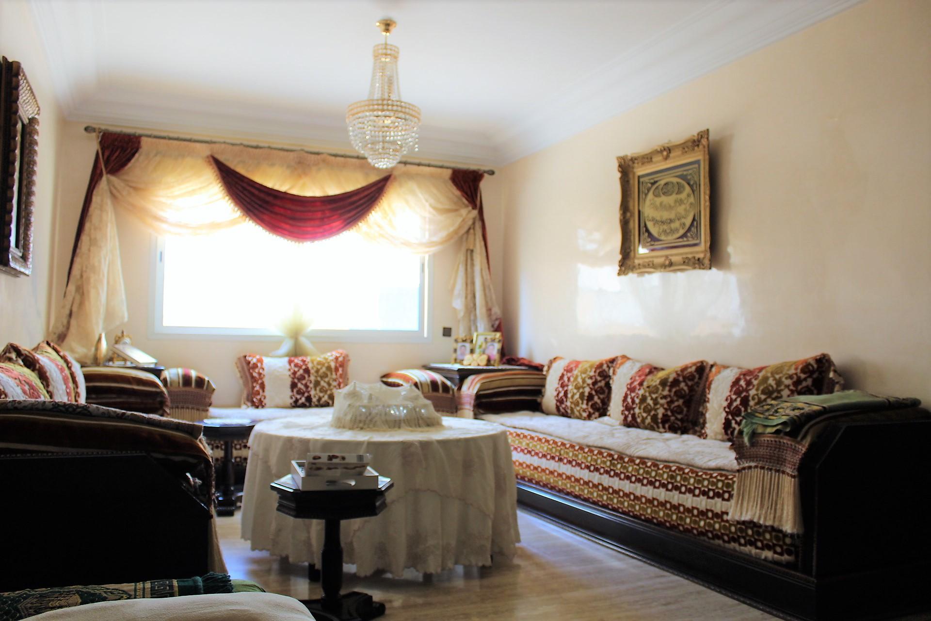 Maroc, Casablanca, maarif (secteur Fourate/ Bir anzarane) à acheter parfait logement de 115 M2 avec grande terrasse de 38 M2.