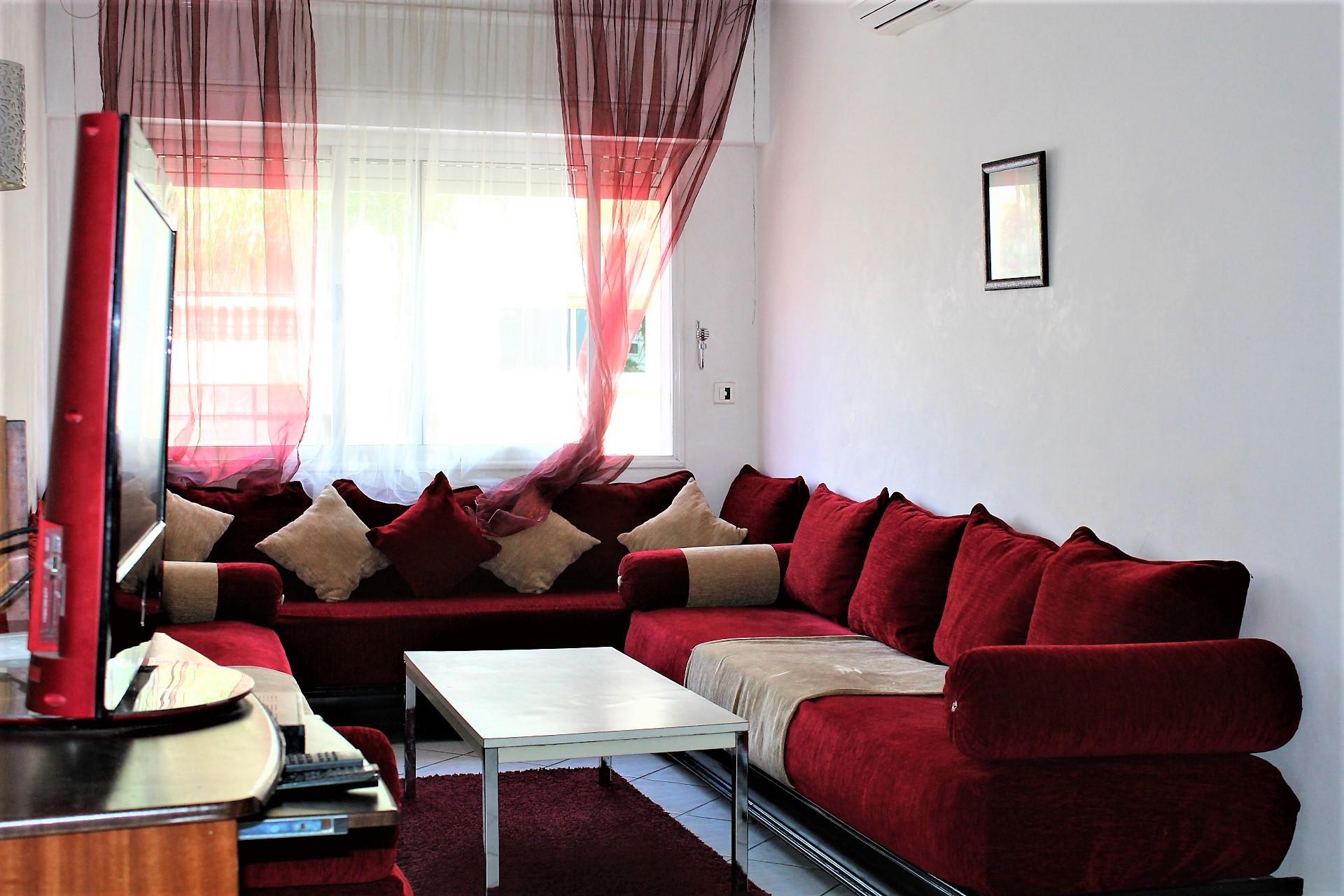 Maroc, Casablanca, Maarif extension, location d'un appartement meublé en parfait état