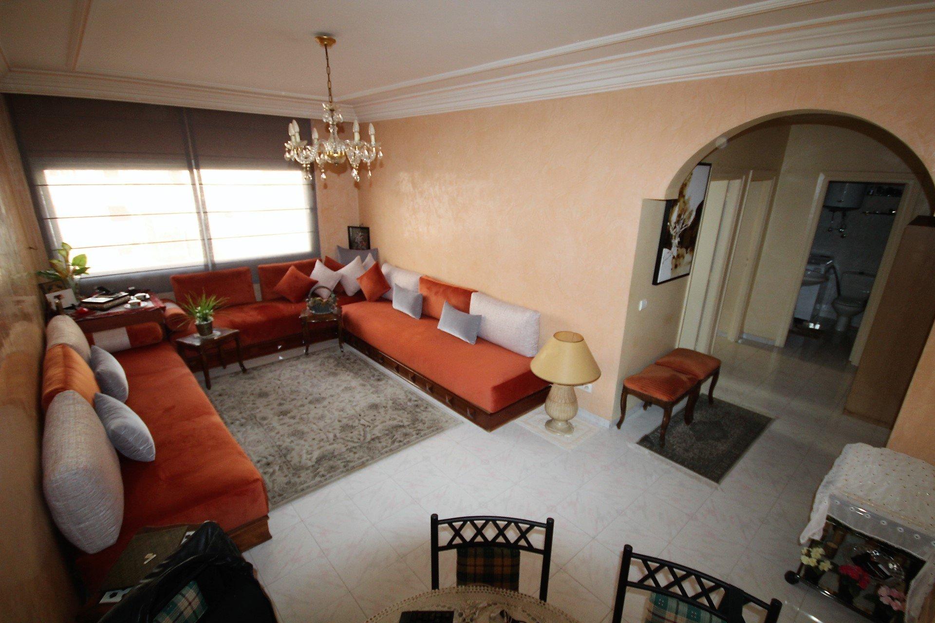 Maroc, Casablanca, Bourgogne, à acheter charmant appartement de de 59m² proche du Club sportif  IDEAL