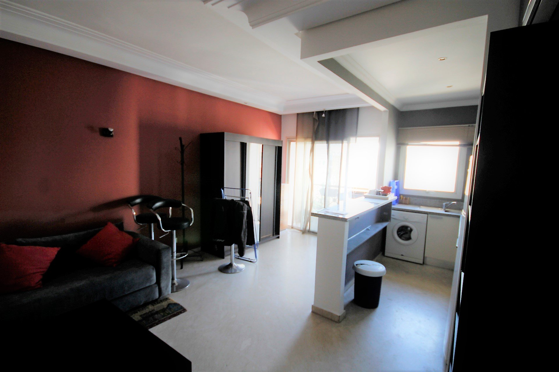location studio meuble maarif