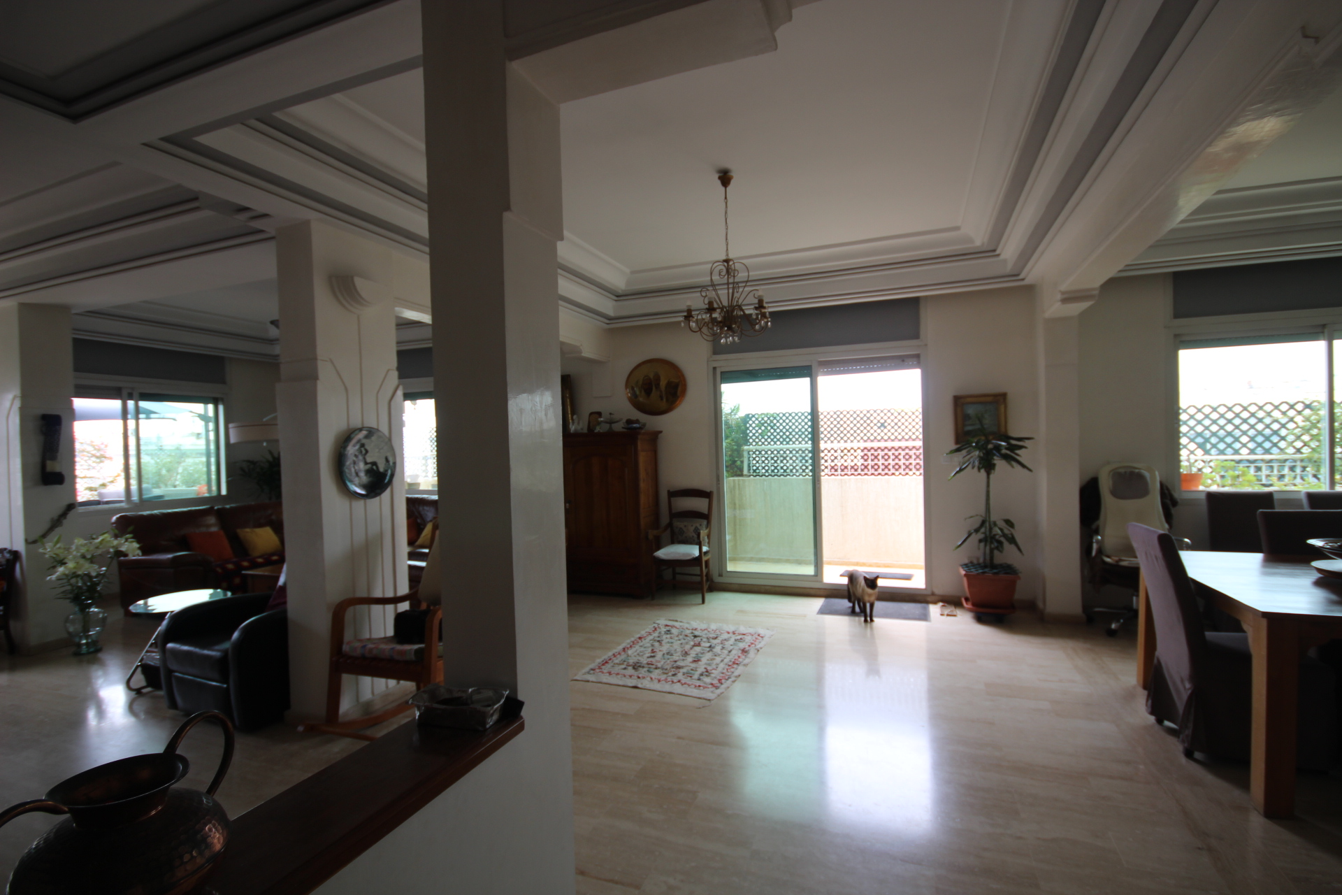 Casablanca, Gauthier, EXCLUSIVITE, vend Appartement toit terrasse de 200 M² habitable