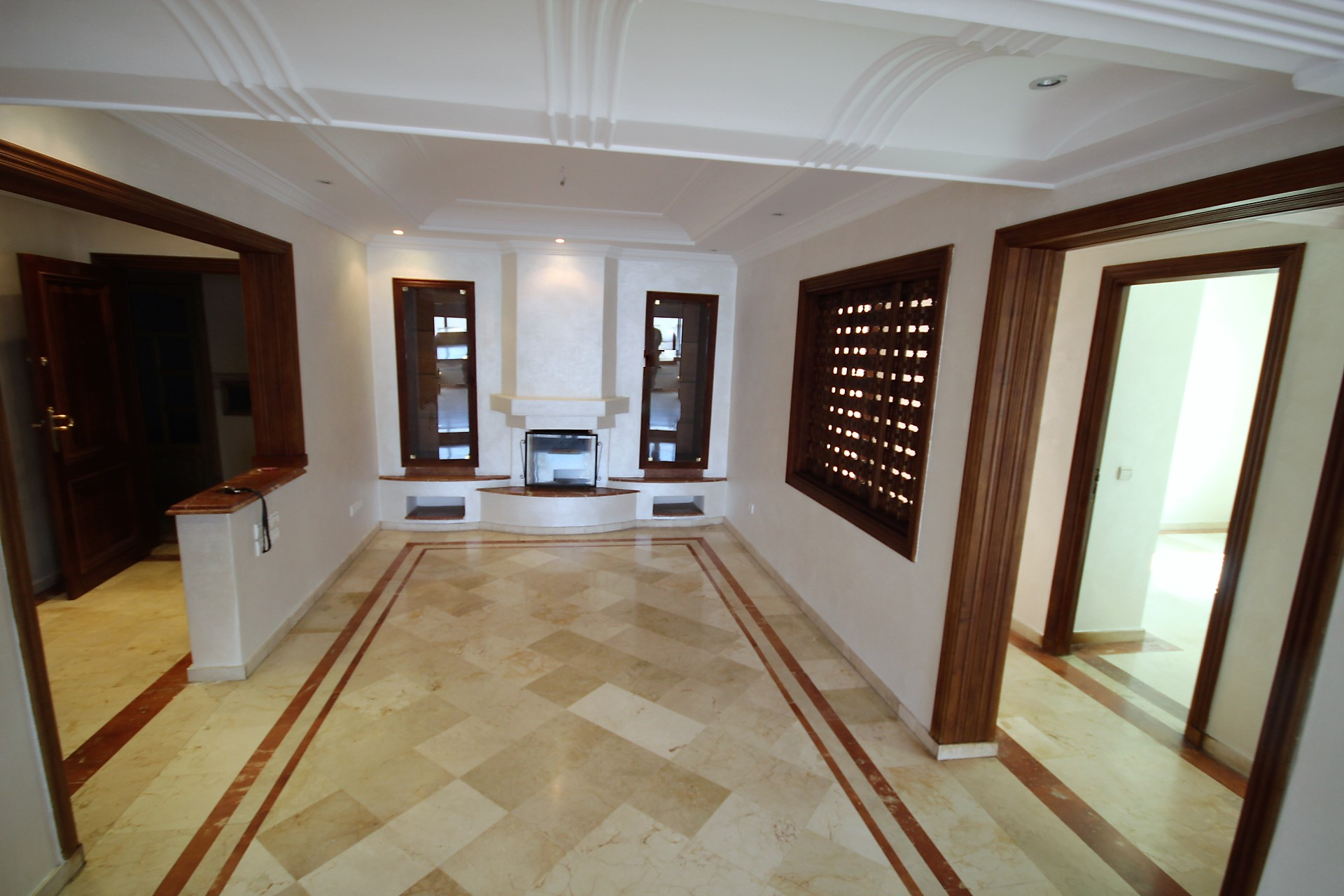 location appartement triangle d'or casablanca