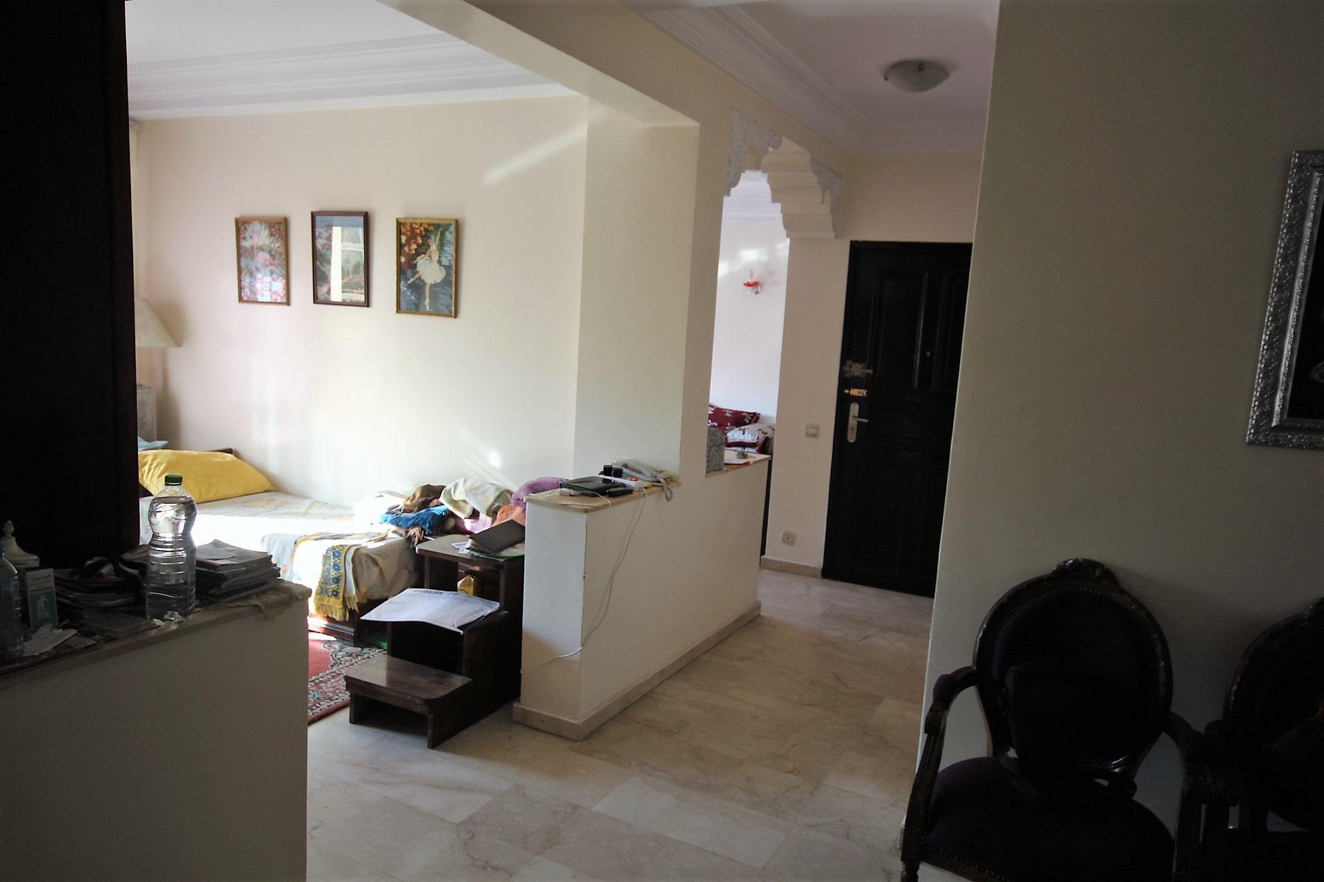 Casablanca, Appartement à vendre 100 m² récent très ensoleillé avec 2 chambres