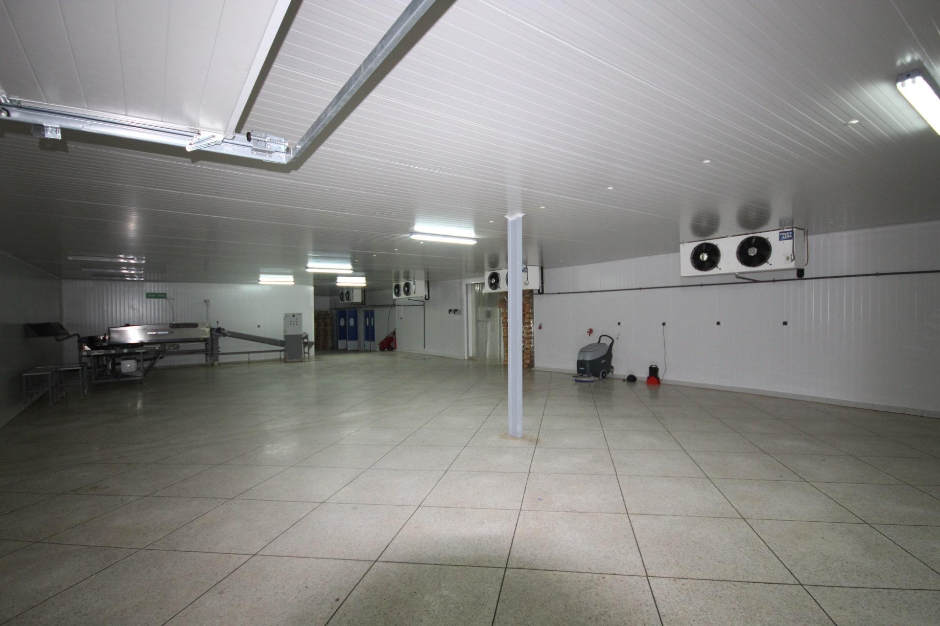 Unité industrielle moderne de stockage froid et de distribution à vendre (Location possible).