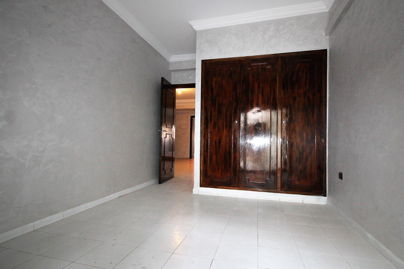Maroc, Casablanca, Bourgone, à louer agréable appartement 2 chambres avec terrasse