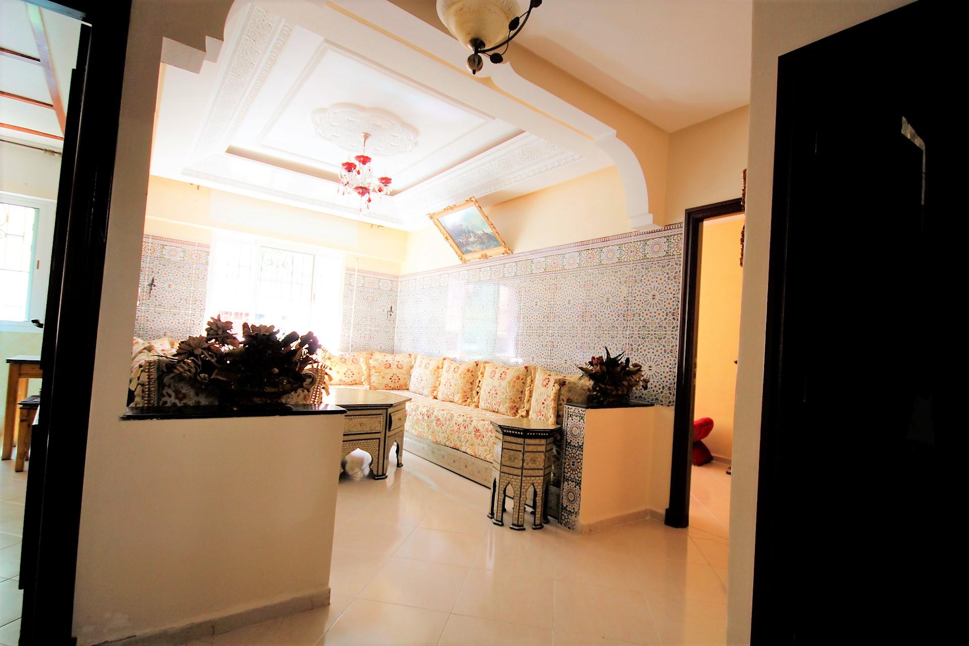 Maroc, Dar bouazza village, vend appartement en duplex bon prix