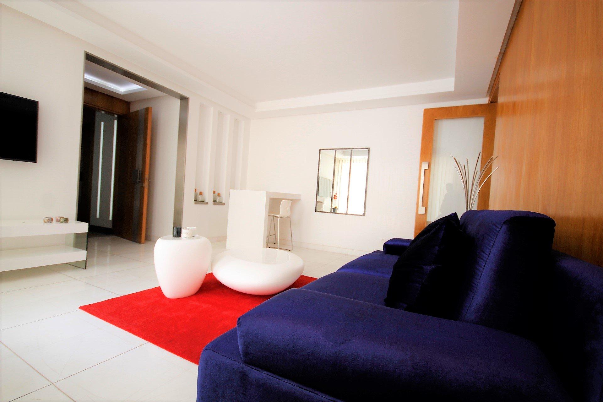 Maroc, Casablanca, Triangle d'Or, loue luxueux appartement meublé, 2 chambres