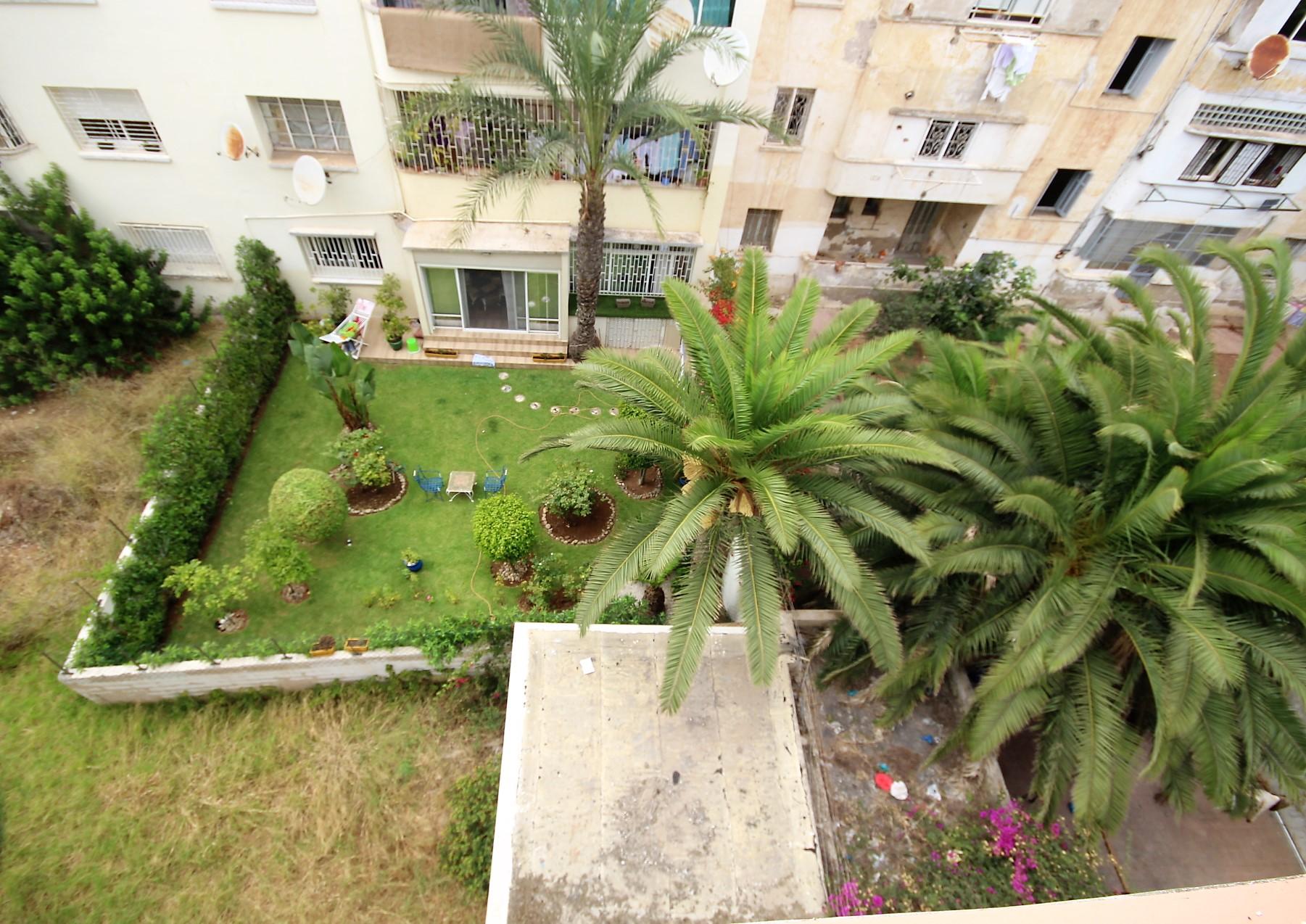 Casablanca, Racine, à louer appartement avec terrasse entièrement rénové