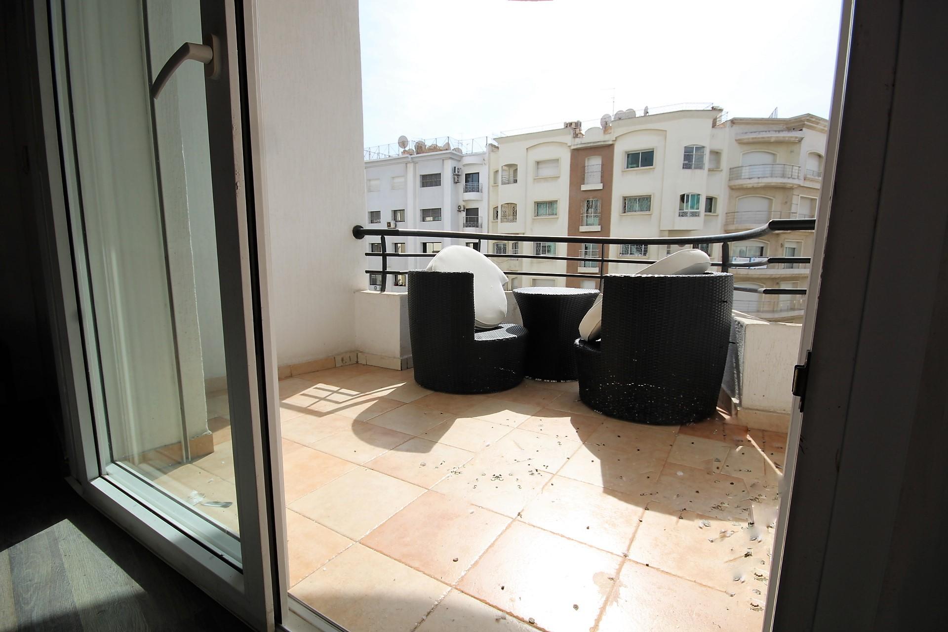 Maroc, Casablanca, en cœur du Triangle d'or, à saisir appartement en parfait état de 141 m²