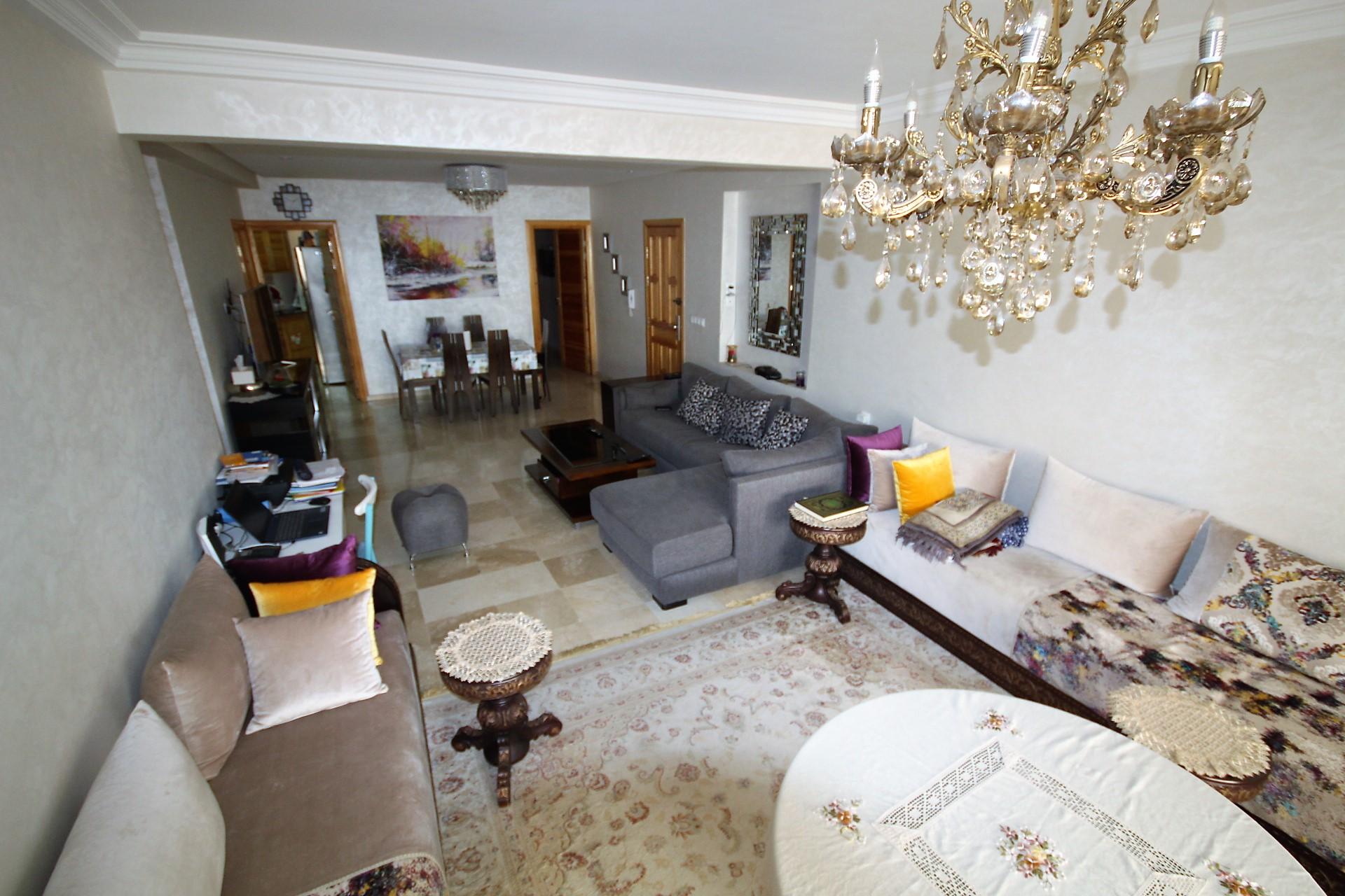 Maroc, Casablanca,secteur 2 mars,à acheter superbe appartement de 105 m²