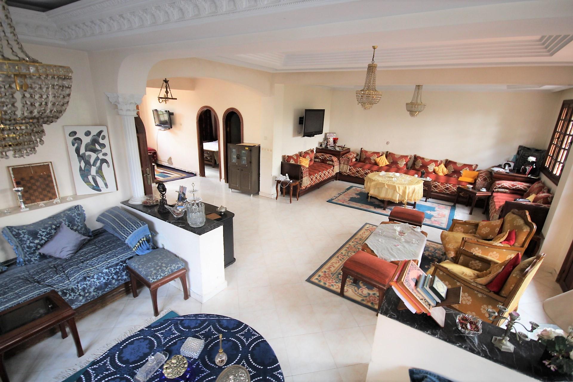 Maroc, Casablanca, Hermitage, (Hay Raja) à saisir Villa de 335m²