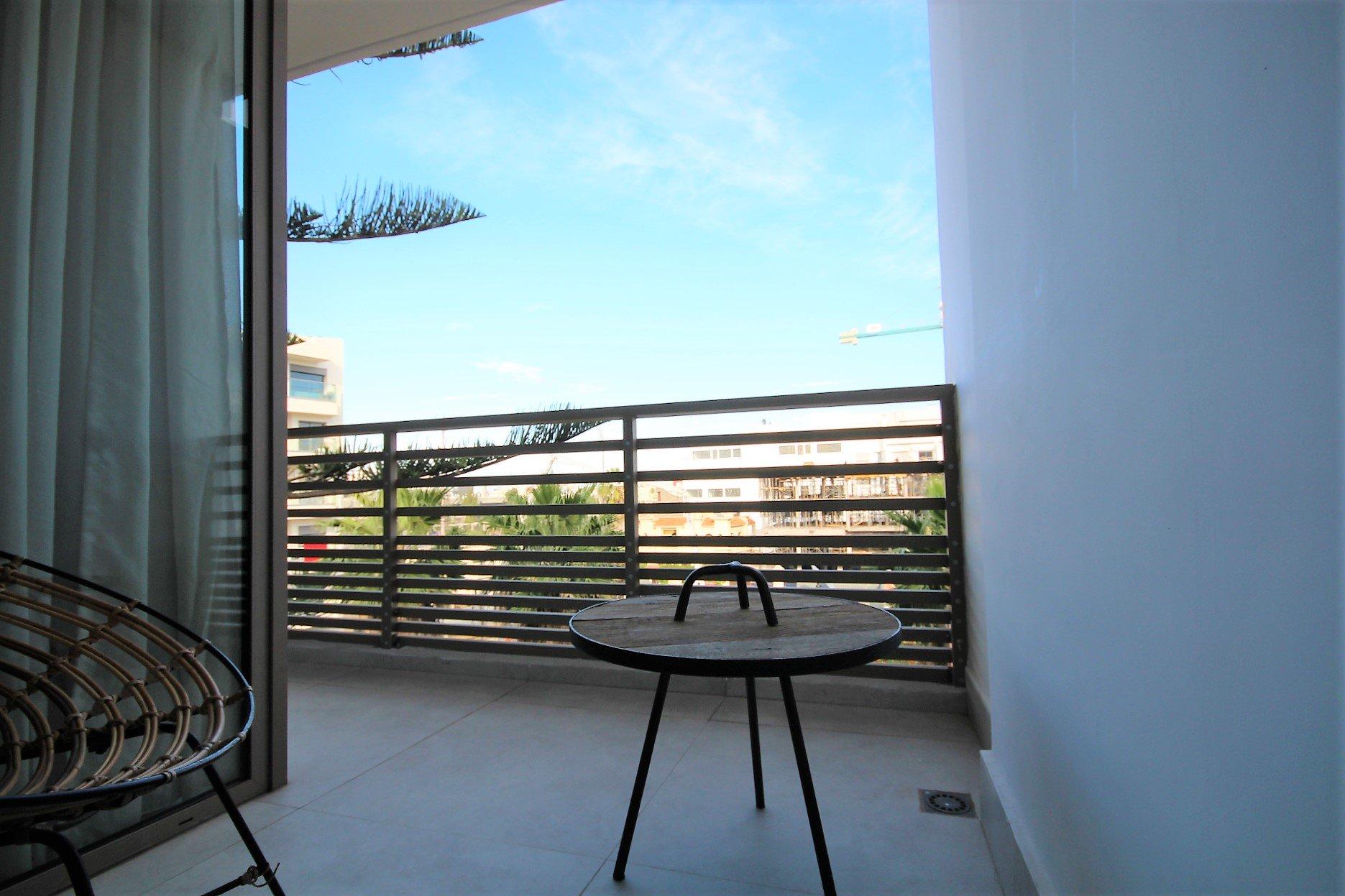 Maroc, Casablanca, Les Princesses, loue appartement neuf Meublé de 70m² avec 2 chambres