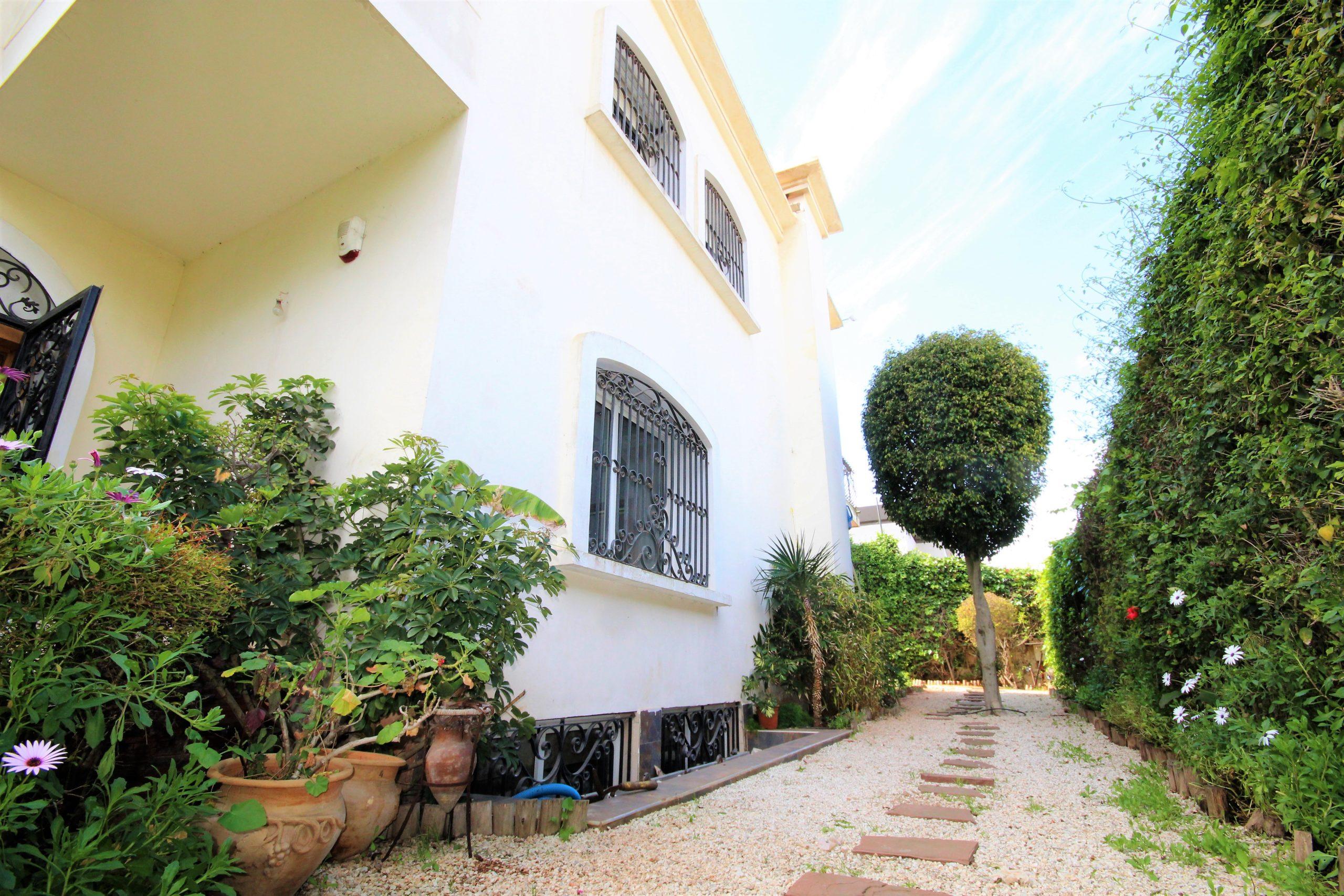 Casablanca, Ain diab, vend villa 4 chambres avec piscine vue mer