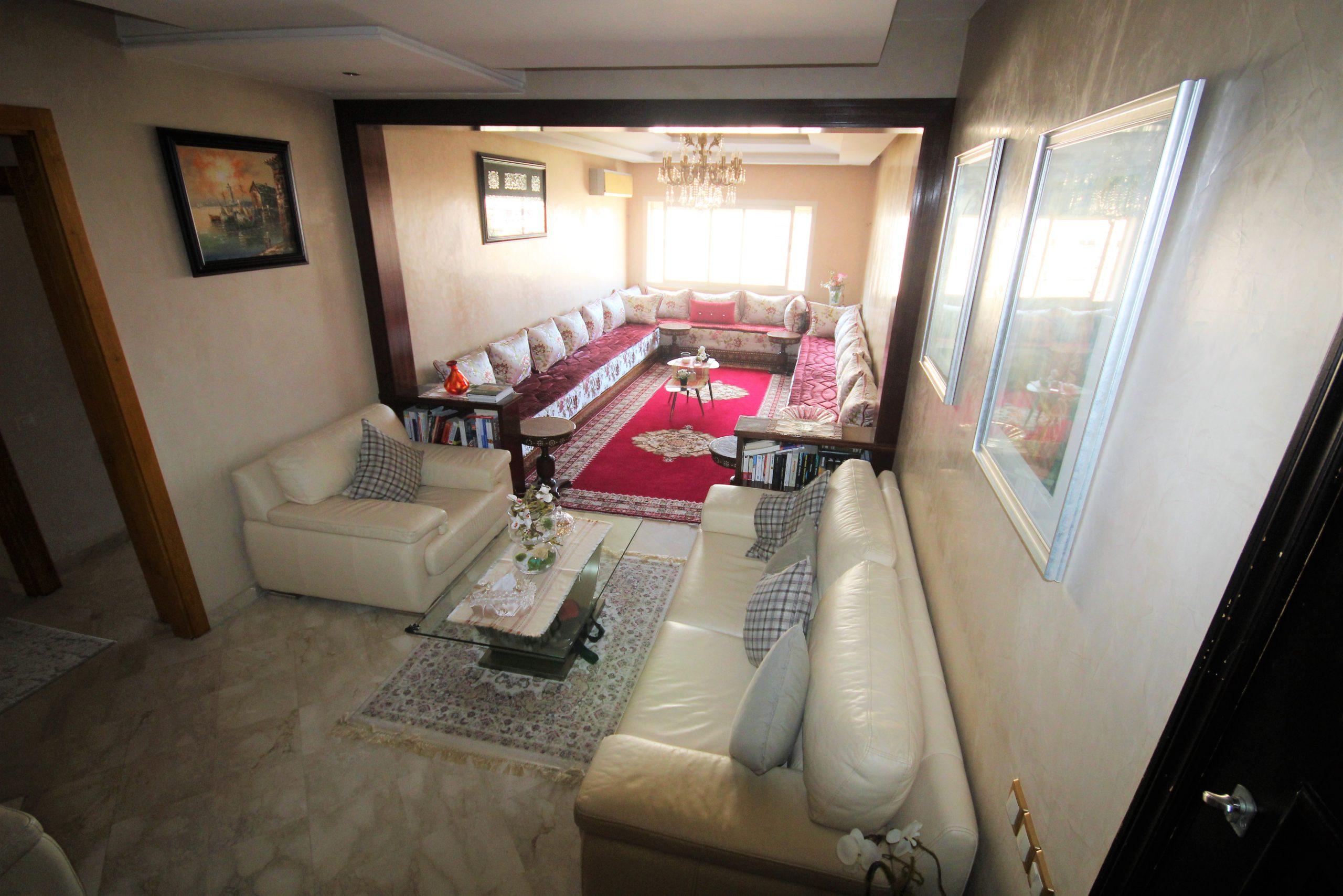 Maroc, Casablanca, Californie, vente d'appartement luxueux 3 chambres