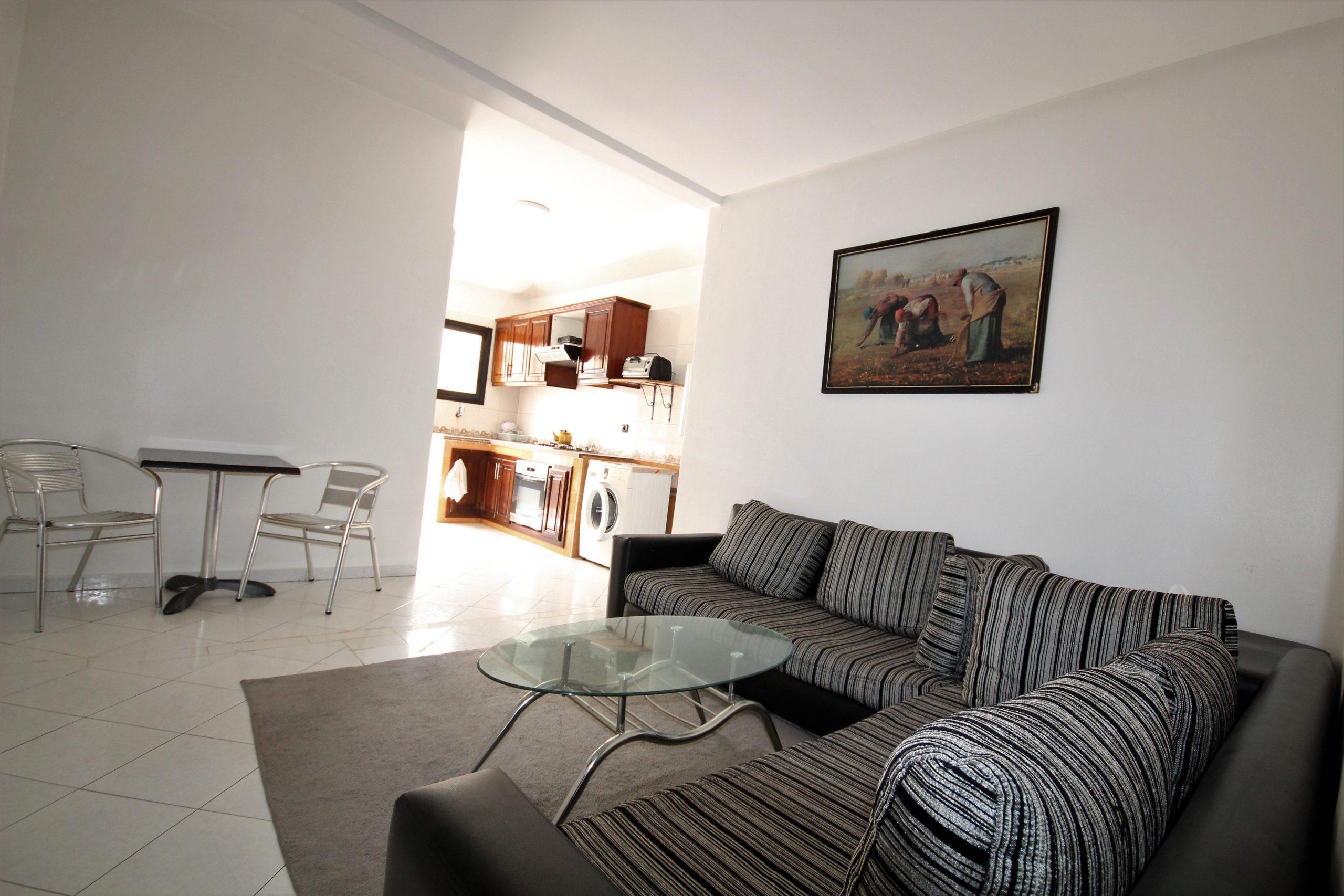 Casablanca, Bourgogne, exceptionnel Vend Appartement 2 chambres  salon à 785000 DHS !