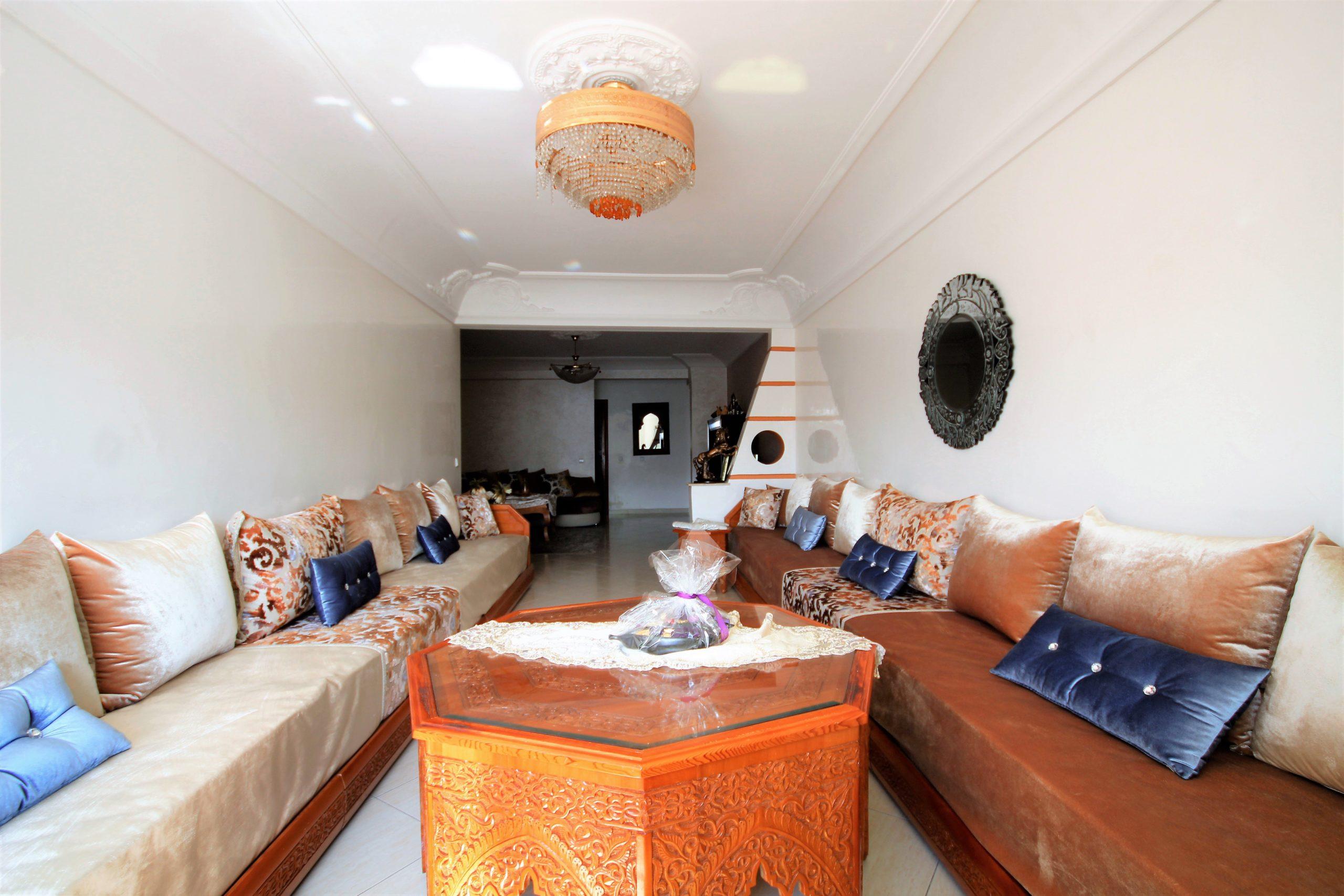 Casablanca, la Gironde, vend appartement 136 m ² de 3 ch ensoleillé
