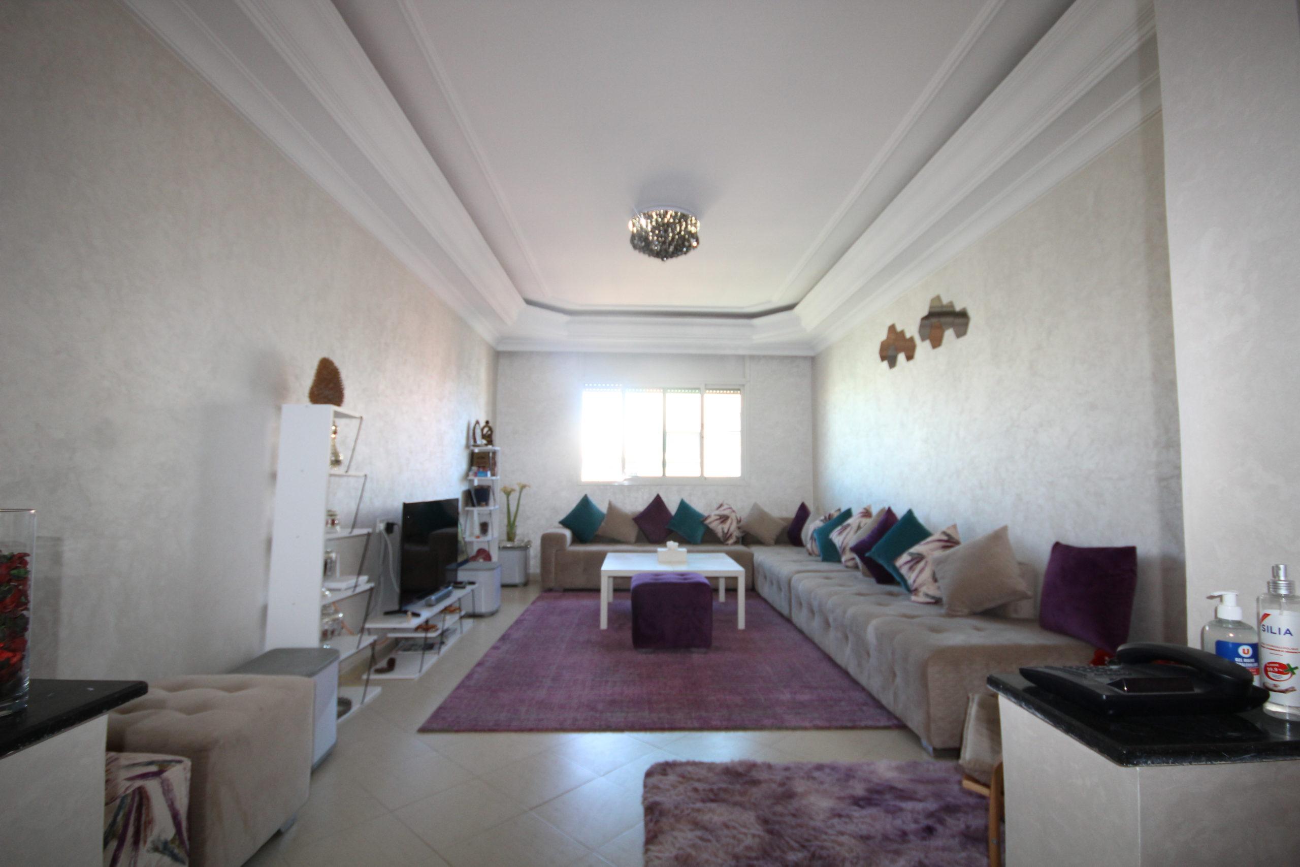 Casablanca Bel Appartement 3 ch sur Californie,  95 m² habitable, à très bon prix